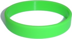 light green wristband