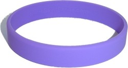 purple wristband
