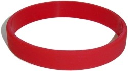 red wristband