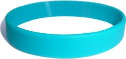 teal wristband