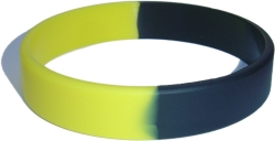 yellow and black wristband