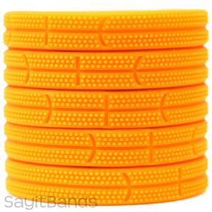 Basketball Silicone Wristbands