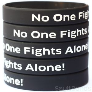 No One Fights Alone Wristbands