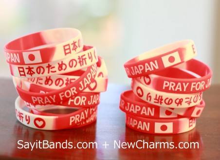 Pray for Japan Wristbands
