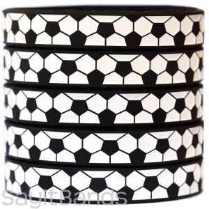 Soccer Silicone Wristbands